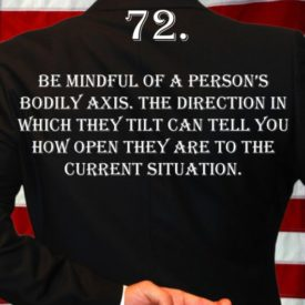 Deception Tip 72 - How To Detect Deception - A Guide To Deception - Author Spencer Coffman