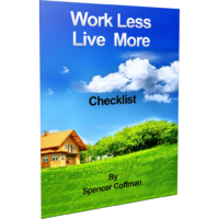 Work Less Live More Checklist By Spencer Coffman