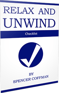 Relax And Unwind Checklist By Spencer Coffman