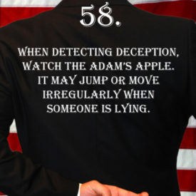 Deception Tip 58 - How To Detect Deception - A Guide To Deception - Author Spencer Coffman