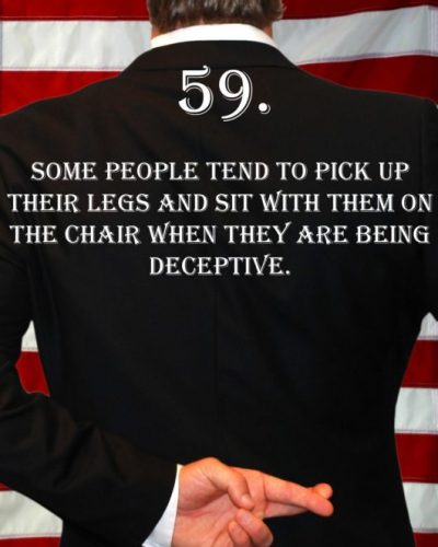 Deception Tip 59 - How To Detect Deception - A Guide To Deception