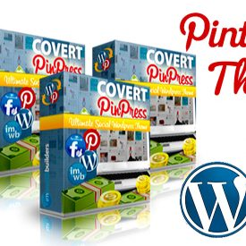 Covert PinPress Review WordPress Pinterest Based Theme - Spencer Coffman