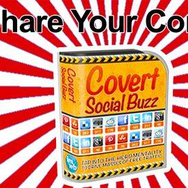 Covert Social Buzz Review WordPress Social Sharing Plugin - Spencer Coffman