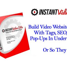 Instant Video Site Review WordPress Plugin Embed YouTube Videos - Spencer Coffman