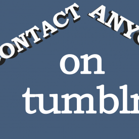 How To Contact Anyone On Tumblr And Increase Followers - Spencer Coffman