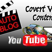 Covert Video Content Review WordPress Video Website - Build A Video Blog - Spencer Coffman