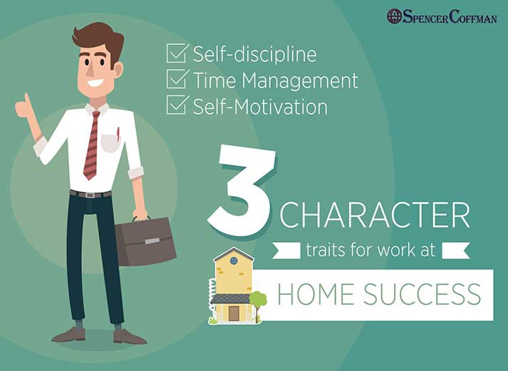 3 Character Traits For Work At Home Success - Spencer Coffman