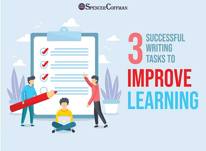 3 Successful Writing Tasks To Improve Learning Spencer Coffman