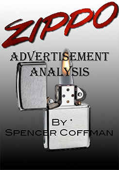 Zippo Advertisement Analysis Spencer Coffman