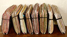 keep a journal stack of journals spencer coffman