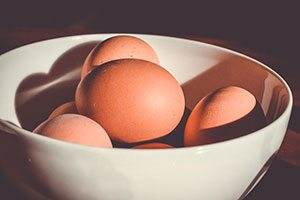 high protein diet eggs in a bowl spencer coffman