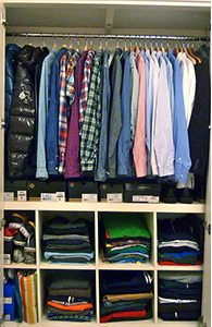 closets in order clean closet spencer coffman