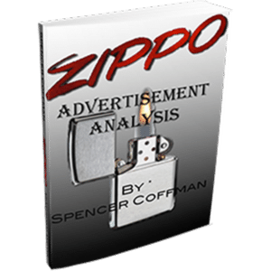 Zippo Adverdisement Analysis By Spencer Coffman
