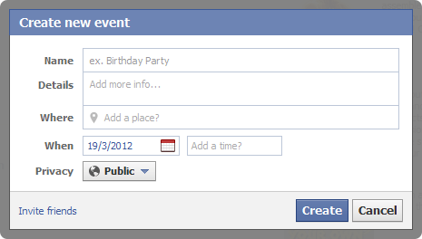 market on facebook create new event spencer coffman