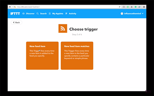 steemitvideos automatically share steemit post to linkedin ifttt spencer coffman choose trigger