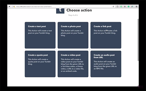 steemitvideos automatically share steemit post to tumblr spencer coffman choose action